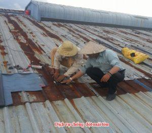 dịch vụ mái nhà đẹp chống thấm dột
