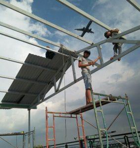 thi công lắp mái tôn quận 3