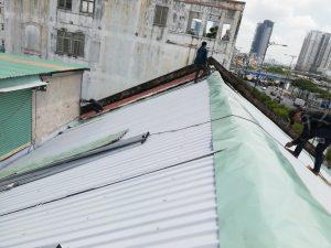 thi công lắp mái tôn tphcm giá rẻ