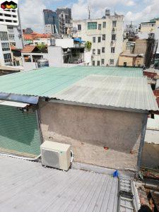 mái tôn tại quận Bình Chánh