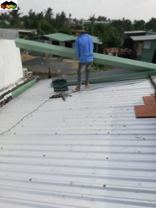 làm mái tôn quận Bình Chánh