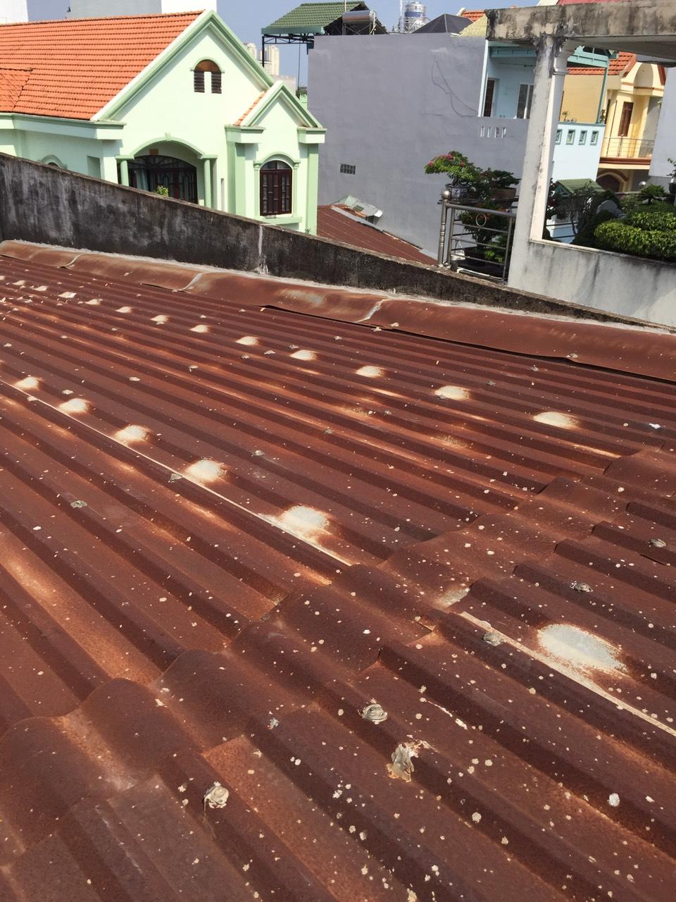 phục hồi mái tôn chống dột mái tôn làm mái tôn giá rẻ