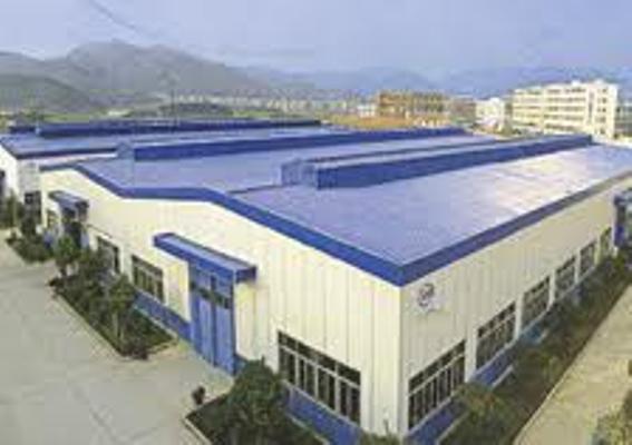 dự án từ trên không , lắp vách tôn khu công nghiệp