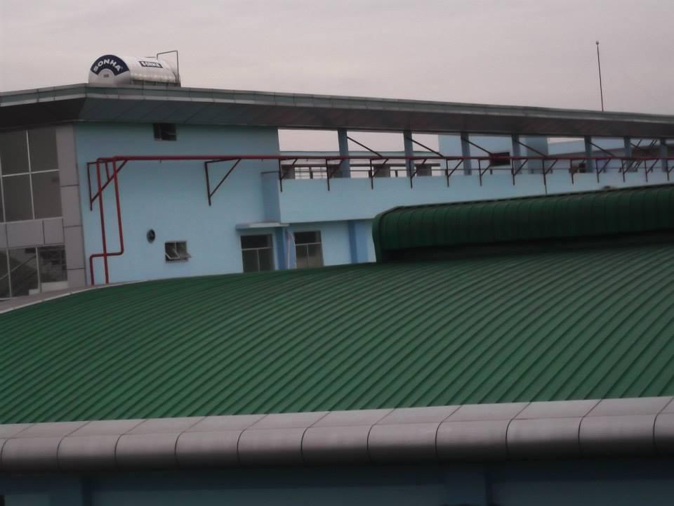 chuyên máng xối nhà xưởng inox, tôn kẽm, inox 304, 201, 316