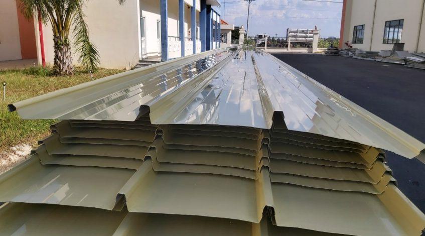 tôn lợp mái nhà xưởng tphcm bình dương