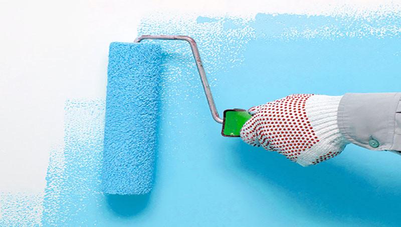 sơn bóng tường nhà