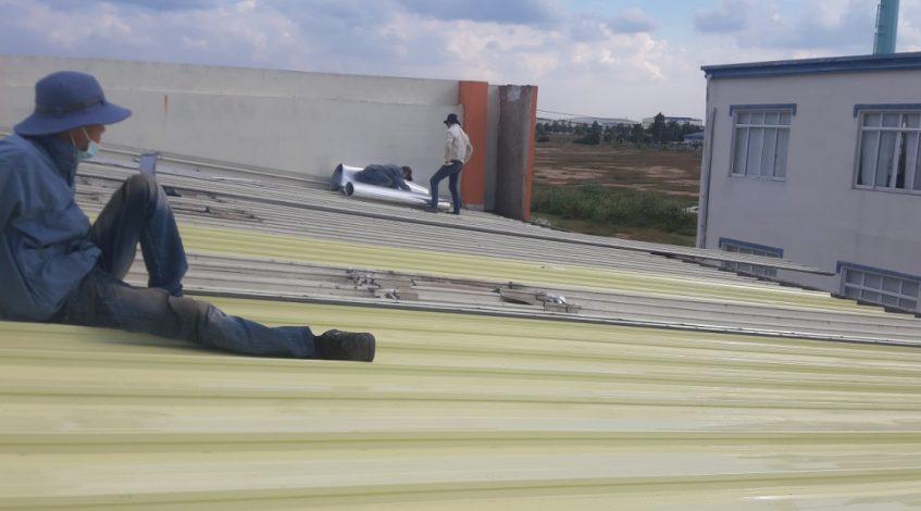 Thợ sửa mái tôn quận bình thạnh – chống dột mái tôn