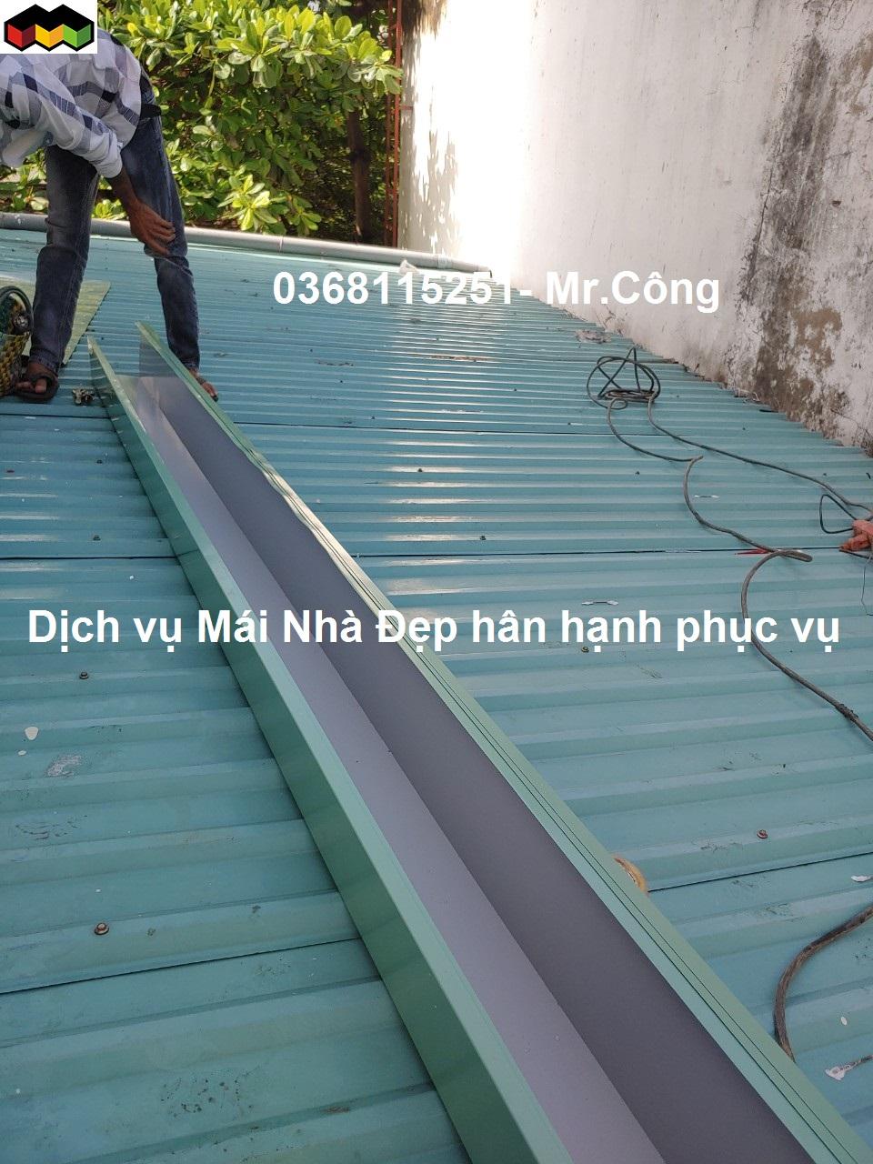 làm máng xối tại quận Phú Nhuận