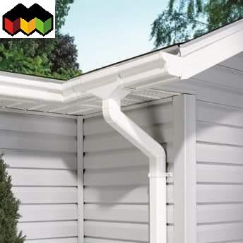 hệ thống máng xối đẹp phù hợp lượng nước chảy của ngôi nhà bạn