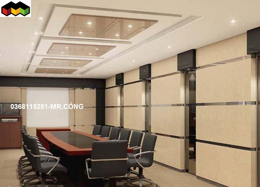 thi công trần thạch cao văn phòng-Mái Nhà Đẹp