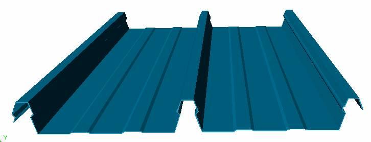 tôn cliplock 406 - Mái Nhà Đẹp - Đơn vị hàng đầu thi công mái tôn nhà xưởng, khu công nghiệp, nhà kho