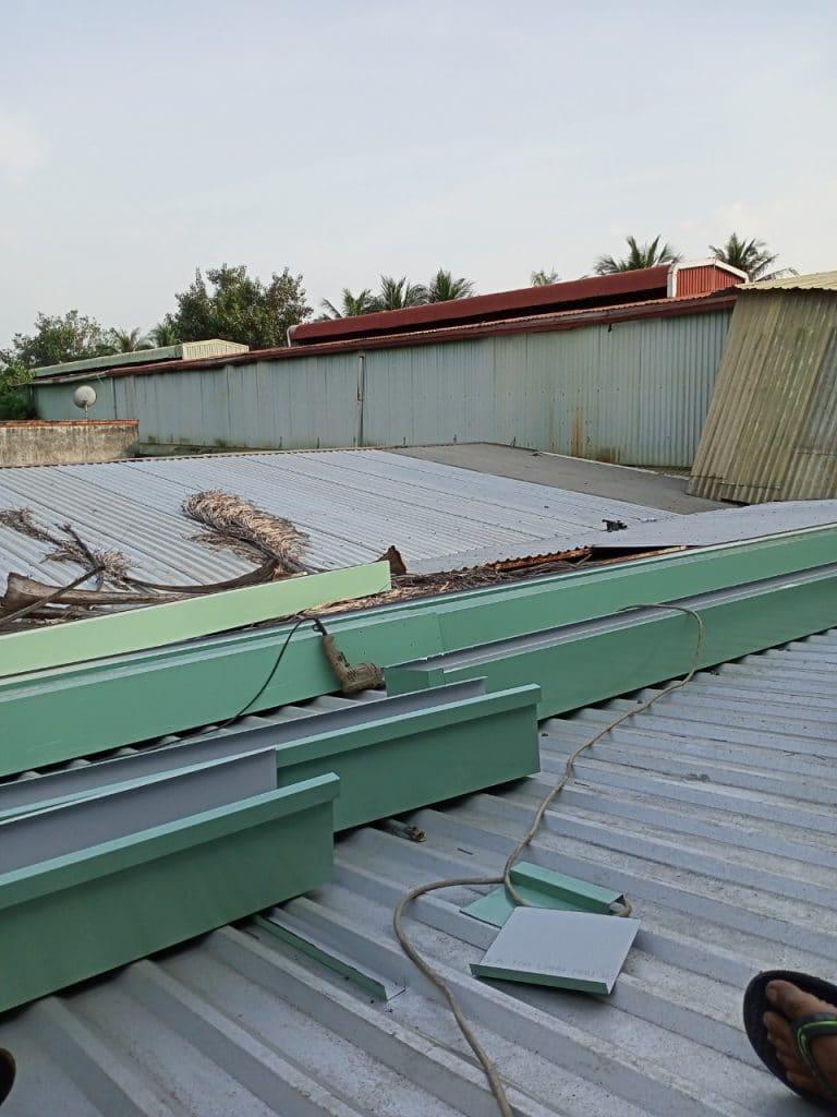 thợ đóng máng xối quận Tân Bình