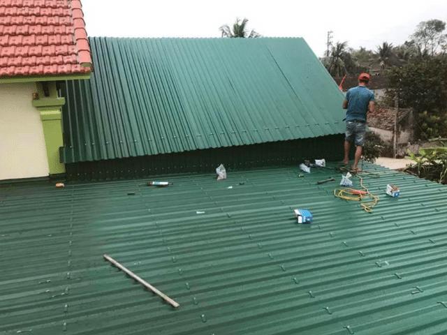 thợ làm mái tôn tại quận 4