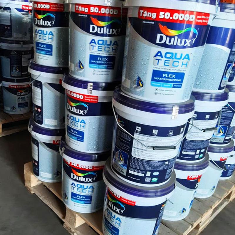 báo giá sơn chống thấm mới nhất 2021 - hàng có sẵn số lượng lớn