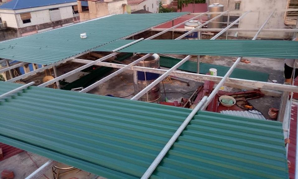 dịch vụ làm mái tôn Đồng Nai- Mái Nhà Đẹp - 036.811.5251