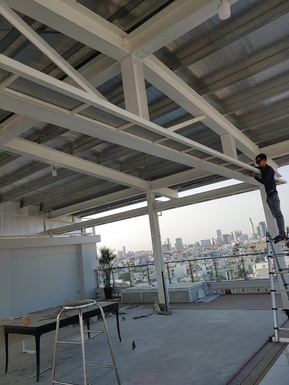 báo giá làm mái tôn tại quận 5 - dịch vụ thi công mái tôn tại hà nội giá rẻ - đội thợ kinh nghiệm làm mái tôn nhà cấp 4, làm mái tôn dân dụng