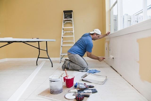 dịch vụ sơn nhà tại quận 2 - mái nhà đẹp