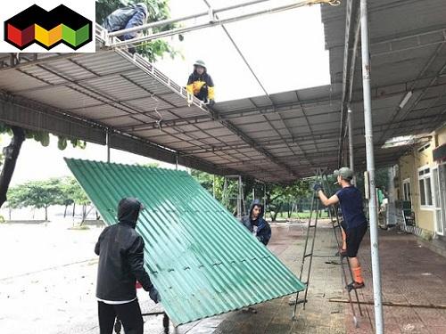 thợ làm mái tôn trọn gói giá rẻ - dịch vụ làm mái tôn tại tphcm