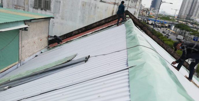 thợ lợp mái tôn ở tại quận Phú Nhuận - Mái Nhà Đẹp - 0368115251
