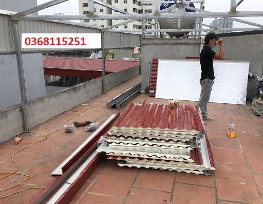 lợp mái tôn Mái Nhà Đẹp - báo giá lợp mái tôn tại Hà Nội - lợp mái tôn tại quận Cầu Giấy