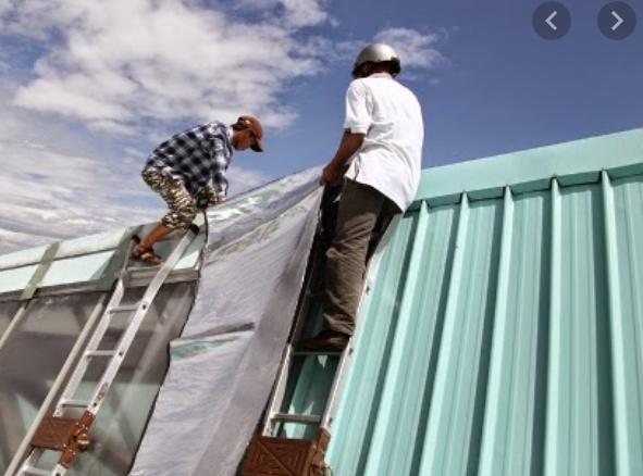 thợ thi công làm mái tôn tại TPHCM - Hotline 0368115251