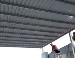 thi công làm mái tôn quận Tân Bình giá rẻ